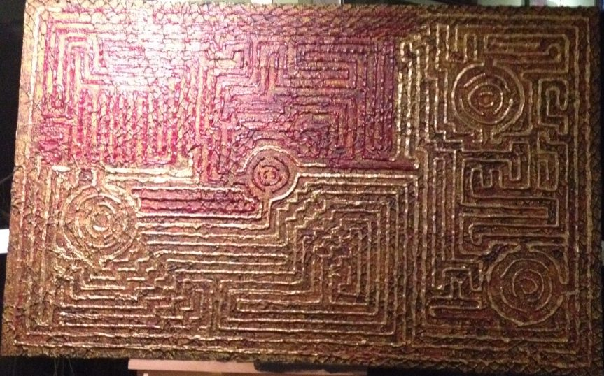 maze in progress